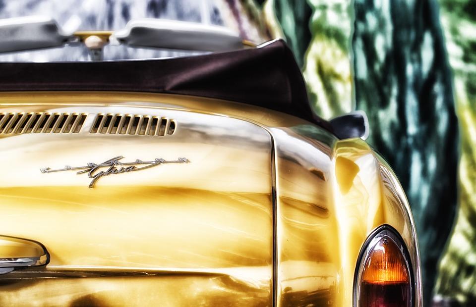 Guld bil